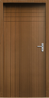 Fire proof wood doors