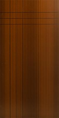 Deluxe Red Door Panel