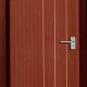 Natural Red Door